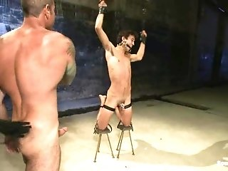 Lewd Gay Josh Slyman Gets His Ass Fingered And Fucked By Nick Moretti